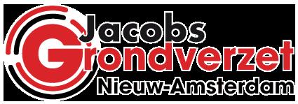 Logo Grondverzet Jacobs Nieuw-Amsterdam